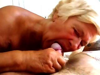 mature, granny, straight, , ,
